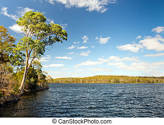 Water Reservoir - Water reservoir in the Adelaide Hills, ...