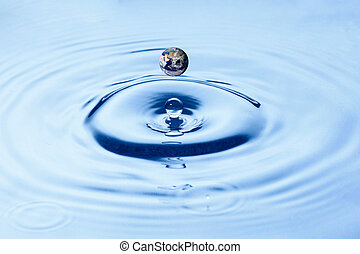 Water resources on planet earth
