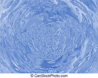Water ripple illustration