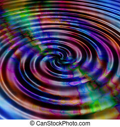 Water ripples - Abstract water ripples