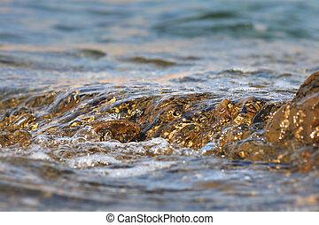 water rots, vloeiend