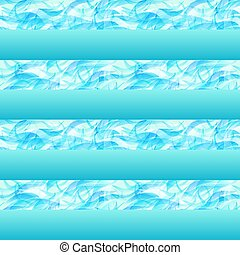 Water seamless pattern, vector illustration