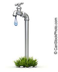 Water shortage concept