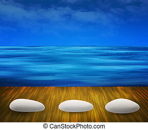 Water Spa Background