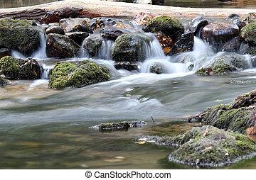 water spring scene