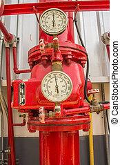 Water sprinkler and fire fighting system - Water sprinkler...