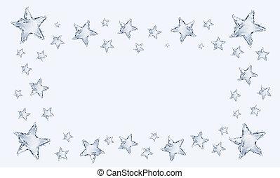 Water Star Frame