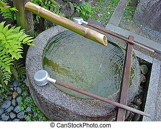 Water Stone Pot