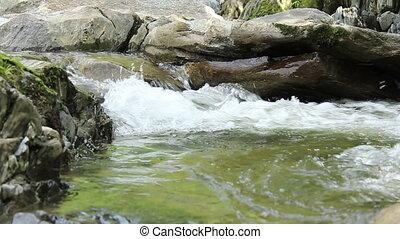 Water Stream Foamy Whirlpool