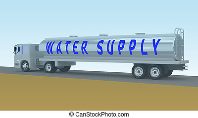 WATER SUPPLY concept