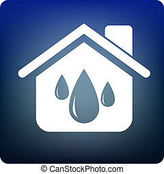 water supply - droplets in the house