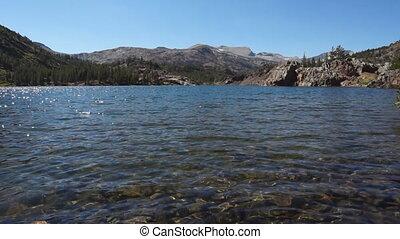 Water surface - Yosemite, CA, USA