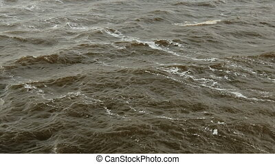 Water surface, nature landscape - Water surface - view from...