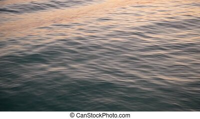 Water surface of the sea background