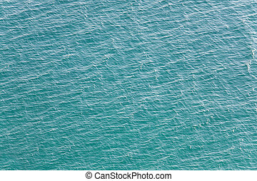 Water surface - Summer sea blue water surface view