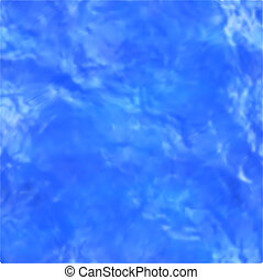 Pool of water surface. Vector illustration