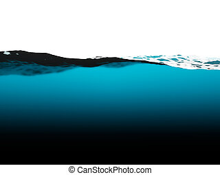 Water surface with waves background