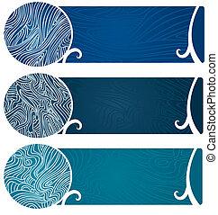 Water Swirls Banner Too