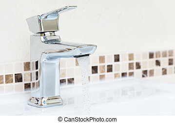 tap and water dripping