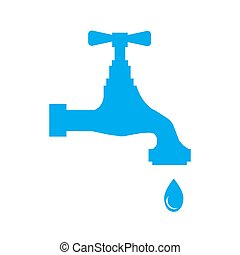 Water tap with drop