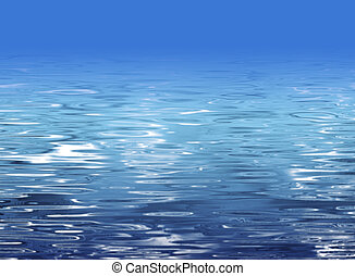 Water texture - beach illustration