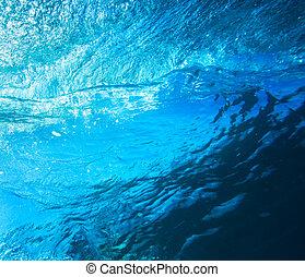 Water Texture Under Water