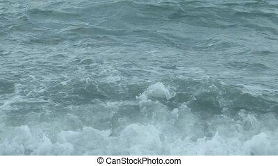 water, textuur, zee