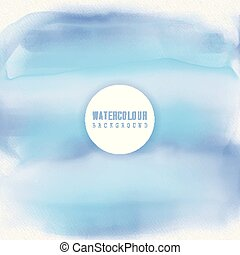 water themed watercolour background 1106 - Sea themed...