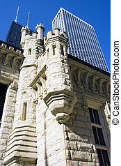 Water Tower building in Chicago - Water Tower building in...