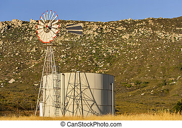 Water Tower In California