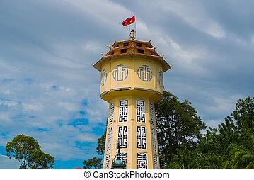 Water tower in Phan Thiet. Vietnam