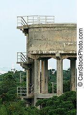 Water Tower - Taketomi Island , Okinawa, Japan