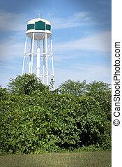 Water Tower White