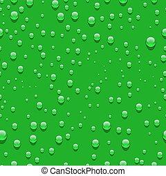 Water transparent drops seamless pattern.