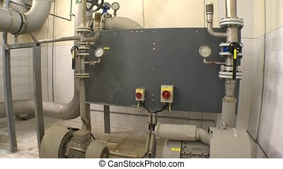 Water treatment biogas production equipment