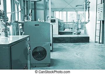 Water Treatment motor room