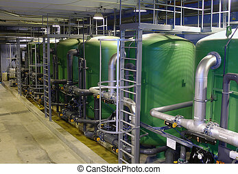Water treatment plan - water treatment plant