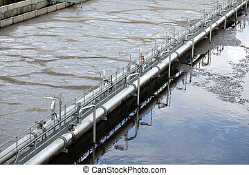 Water treatment plant - View of some water treatment plant...