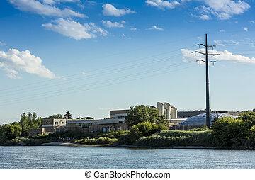Water Treatment Plant - A water treatment plant and facility...