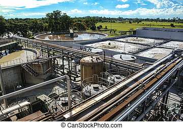 Water treatment plant - Waste water treatment plant