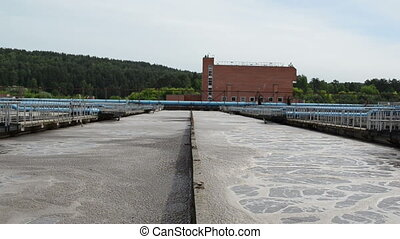 water treatment pools