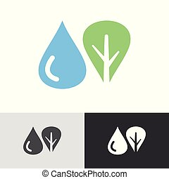 Water tree logo