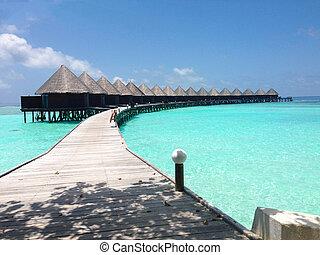 water villa in Maldives