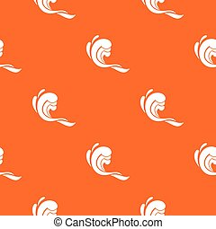 Water wave pattern seamless