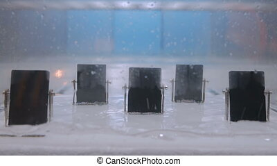 Water waves generator at technology museum - Interactive...