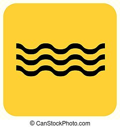 Water waves icon