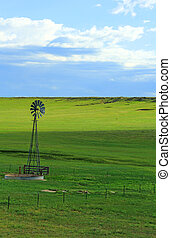 Water Well - A lonely and serene scene of an old water well...