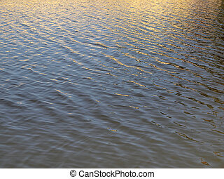 Water with reflection pattern background