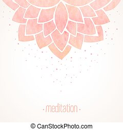 watercolor, 粉红色, 植物群, 背景