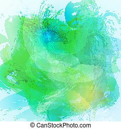 Watercolor abstract background.